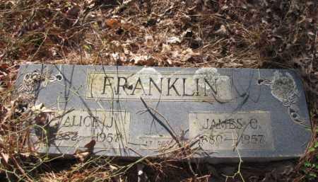 FRANKLIN, ALICE J. - Clark County, Arkansas | ALICE J. FRANKLIN - Arkansas Gravestone Photos