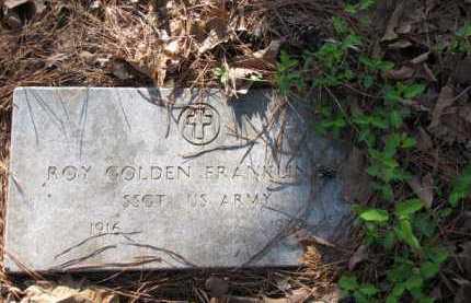 FRANKLIN (VETERAN), ROY GOLDEN - Clark County, Arkansas | ROY GOLDEN FRANKLIN (VETERAN) - Arkansas Gravestone Photos