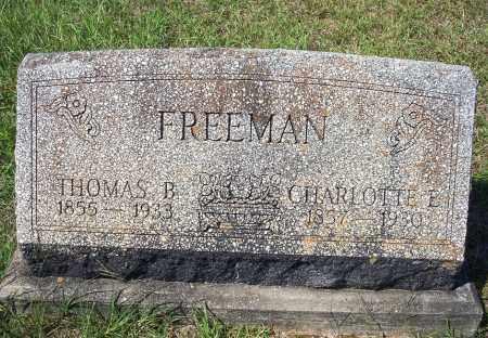 FREEMAN, CHARLOTTE E. - Clark County, Arkansas | CHARLOTTE E. FREEMAN - Arkansas Gravestone Photos