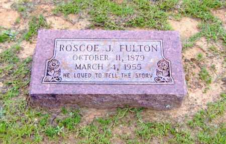 FULTON, ROSCOE J. - Clark County, Arkansas   ROSCOE J. FULTON - Arkansas Gravestone Photos