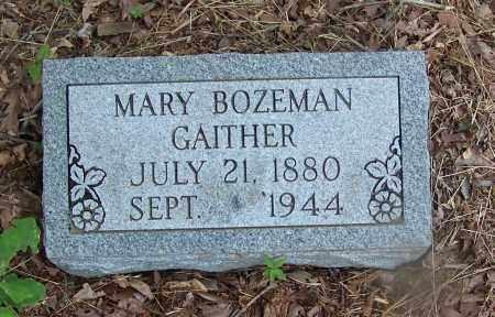 BOZEMAN GAITHER, MARY - Clark County, Arkansas | MARY BOZEMAN GAITHER - Arkansas Gravestone Photos