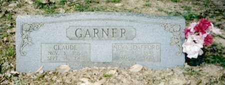 GARNER, CLAUDE (JESSIE CLAUDE) - Clark County, Arkansas | CLAUDE (JESSIE CLAUDE) GARNER - Arkansas Gravestone Photos