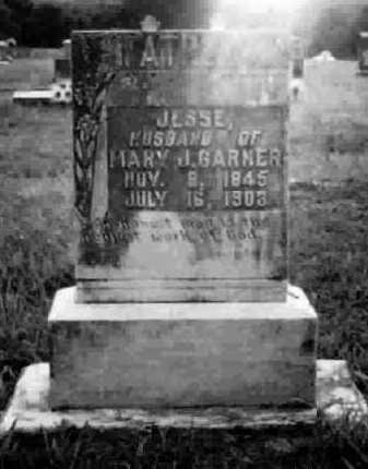 GARNER (VETERAN CSA), JESSE M - Clark County, Arkansas | JESSE M GARNER (VETERAN CSA) - Arkansas Gravestone Photos