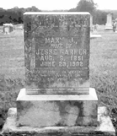 GARNER, MARY JANE - Clark County, Arkansas | MARY JANE GARNER - Arkansas Gravestone Photos