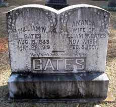 GATES, AMANDA - Clark County, Arkansas | AMANDA GATES - Arkansas Gravestone Photos