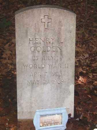GOLDEN (VETERAN WWII), HENRY L - Clark County, Arkansas | HENRY L GOLDEN (VETERAN WWII) - Arkansas Gravestone Photos