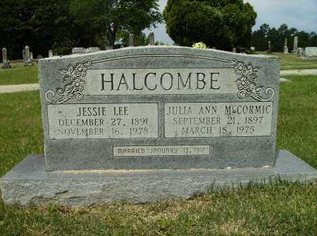 HALCOMBE, JESSIE LEE - Clark County, Arkansas   JESSIE LEE HALCOMBE - Arkansas Gravestone Photos