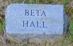 HALL, BETA - Clark County, Arkansas | BETA HALL - Arkansas Gravestone Photos