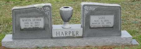 HARPER, MARTIN LUTHER - Clark County, Arkansas | MARTIN LUTHER HARPER - Arkansas Gravestone Photos