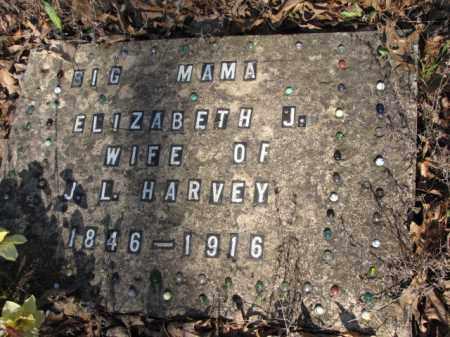 HARVEY, ELIZABETH J. - Clark County, Arkansas | ELIZABETH J. HARVEY - Arkansas Gravestone Photos