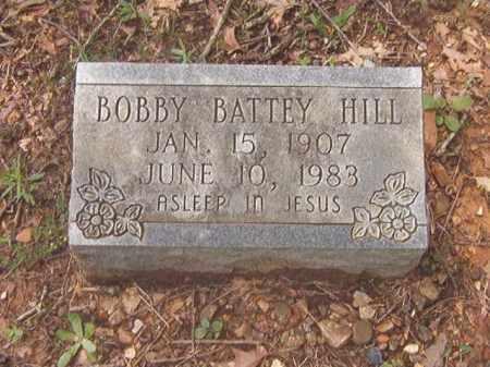HILL, BOBBY BATTEY - Clark County, Arkansas   BOBBY BATTEY HILL - Arkansas Gravestone Photos