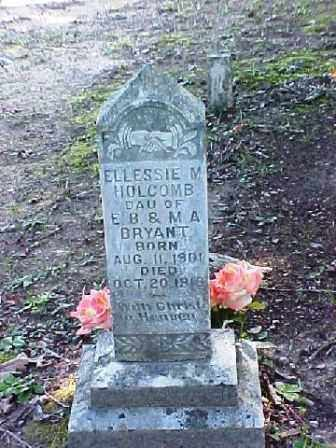HOLCOMB, ELESSIE MAE - Clark County, Arkansas | ELESSIE MAE HOLCOMB - Arkansas Gravestone Photos