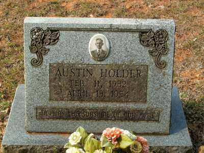 HOLDER, AUSTIN - Clark County, Arkansas | AUSTIN HOLDER - Arkansas Gravestone Photos