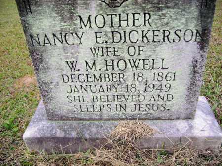 HOWELL, NANCY ELIZABETH - Clark County, Arkansas | NANCY ELIZABETH HOWELL - Arkansas Gravestone Photos