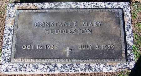 HUDDLESTON, CONSTANCE MARY - Clark County, Arkansas | CONSTANCE MARY HUDDLESTON - Arkansas Gravestone Photos