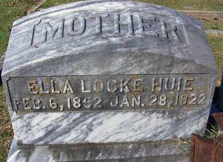 LOCKE HUIE, ELLA - Clark County, Arkansas | ELLA LOCKE HUIE - Arkansas Gravestone Photos