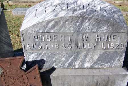 HUIE (VETERAN CSA), ROBERT W - Clark County, Arkansas | ROBERT W HUIE (VETERAN CSA) - Arkansas Gravestone Photos