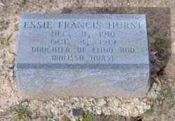 HURST, ESSIE FRANCIS - Clark County, Arkansas | ESSIE FRANCIS HURST - Arkansas Gravestone Photos
