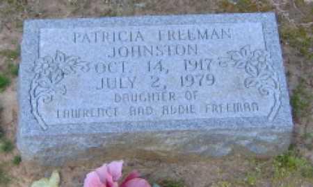 FREEMAN JOHNSTON, PATRICIA - Clark County, Arkansas | PATRICIA FREEMAN JOHNSTON - Arkansas Gravestone Photos