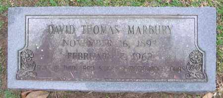 MARBURY, DAVID THOMAS - Clark County, Arkansas | DAVID THOMAS MARBURY - Arkansas Gravestone Photos