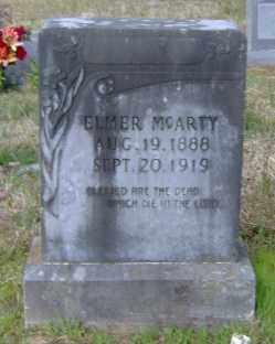 MCARTY, ELMER - Clark County, Arkansas   ELMER MCARTY - Arkansas Gravestone Photos