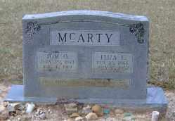 MCARTY, TOM O - Clark County, Arkansas | TOM O MCARTY - Arkansas Gravestone Photos