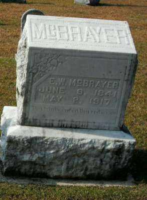 MCBRAYER, E. W. - Clark County, Arkansas | E. W. MCBRAYER - Arkansas Gravestone Photos