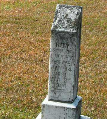 MCBRAYER, ROY - Clark County, Arkansas | ROY MCBRAYER - Arkansas Gravestone Photos