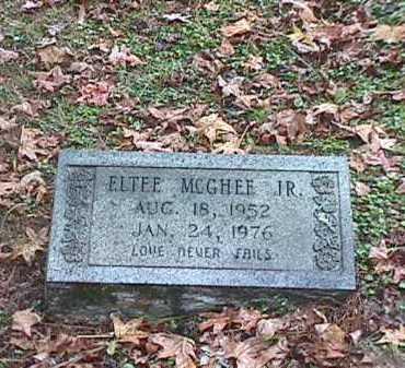 MCGHEE, JR, ELTEE - Clark County, Arkansas   ELTEE MCGHEE, JR - Arkansas Gravestone Photos