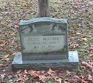 MCGHEE, SR, ELTEE - Clark County, Arkansas | ELTEE MCGHEE, SR - Arkansas Gravestone Photos