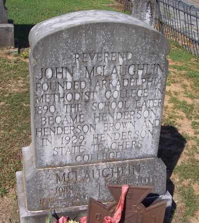 MCLAUGHLIN (VETERAN CSA), JOHN, REV - Clark County, Arkansas | JOHN, REV MCLAUGHLIN (VETERAN CSA) - Arkansas Gravestone Photos