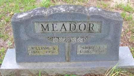 MEADOR, WILLIAM S. - Clark County, Arkansas | WILLIAM S. MEADOR - Arkansas Gravestone Photos