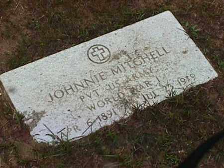MITCHELL (VETERAN WWI), JOHNNIE - Clark County, Arkansas | JOHNNIE MITCHELL (VETERAN WWI) - Arkansas Gravestone Photos