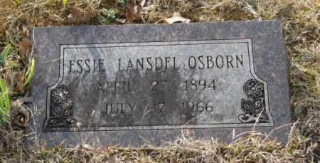 LANSDEL OSBORN, ESSIE - Clark County, Arkansas | ESSIE LANSDEL OSBORN - Arkansas Gravestone Photos