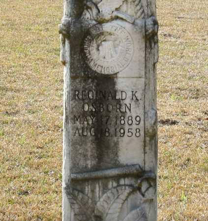 OSBORN, REGINALD K. (CLOSE UP) - Clark County, Arkansas | REGINALD K. (CLOSE UP) OSBORN - Arkansas Gravestone Photos