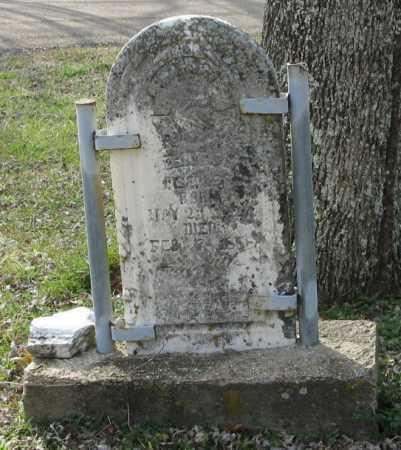 PEEPLES, REUBEN PASCAL - Clark County, Arkansas | REUBEN PASCAL PEEPLES - Arkansas Gravestone Photos