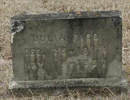 PIGG, JULIA - Clark County, Arkansas | JULIA PIGG - Arkansas Gravestone Photos