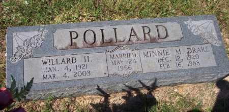 POLLARD, WILLARD H. - Clark County, Arkansas | WILLARD H. POLLARD - Arkansas Gravestone Photos