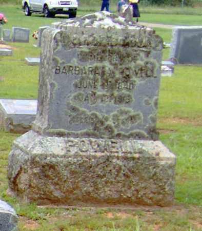 POWELL, BARBARA A. - Clark County, Arkansas   BARBARA A. POWELL - Arkansas Gravestone Photos