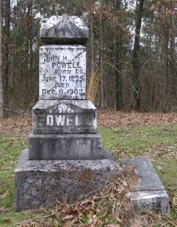 POWELL (VETERAN CSA), JOHN HENDERSON - Clark County, Arkansas | JOHN HENDERSON POWELL (VETERAN CSA) - Arkansas Gravestone Photos