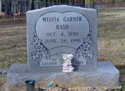 GARNER RASH, MELVIA - Clark County, Arkansas | MELVIA GARNER RASH - Arkansas Gravestone Photos