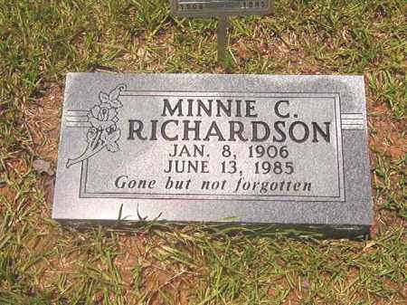 RICHARDSON, MINNIE C. - Clark County, Arkansas | MINNIE C. RICHARDSON - Arkansas Gravestone Photos
