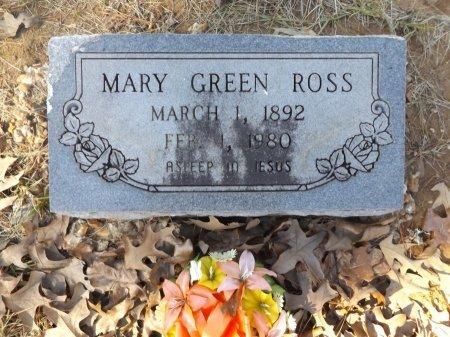GREEN ROSS, MARY - Clark County, Arkansas   MARY GREEN ROSS - Arkansas Gravestone Photos