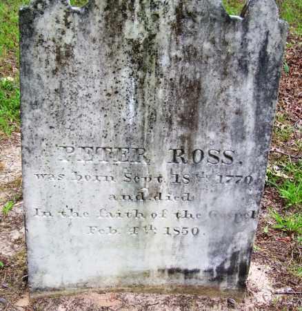ROSS, PETER - Clark County, Arkansas | PETER ROSS - Arkansas Gravestone Photos