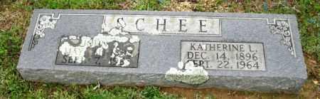 WOODALL SCHEE, KATHERINE LILLIAN - Clark County, Arkansas | KATHERINE LILLIAN WOODALL SCHEE - Arkansas Gravestone Photos