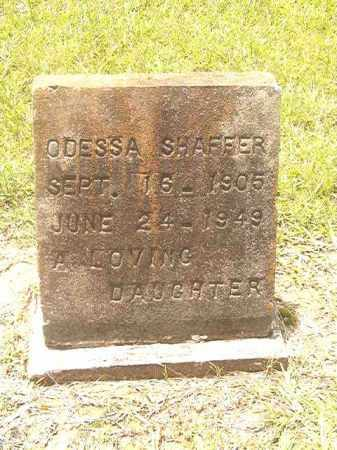 SHAFFER, ODESSA - Clark County, Arkansas   ODESSA SHAFFER - Arkansas Gravestone Photos
