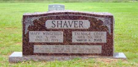 SHAVER, MARY - Clark County, Arkansas   MARY SHAVER - Arkansas Gravestone Photos