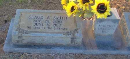 SMITH, CLAUD A. - Clark County, Arkansas   CLAUD A. SMITH - Arkansas Gravestone Photos