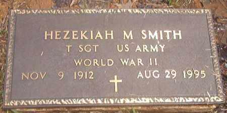 SMITH (VETERAN WWII), HEZEKIAH M - Clark County, Arkansas   HEZEKIAH M SMITH (VETERAN WWII) - Arkansas Gravestone Photos