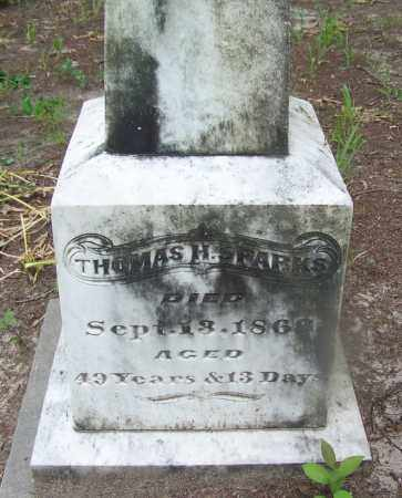 SPARKS, THOMAS H. - Clark County, Arkansas | THOMAS H. SPARKS - Arkansas Gravestone Photos